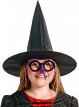 Halloween Hoge heksenhoed voor kinderen