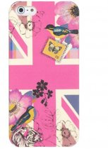 Accessorize hoesje voor iPhone 4/4s roze UK vlag