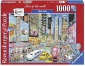 Ravensburger Fleroux - New York - 1000 Stukjes