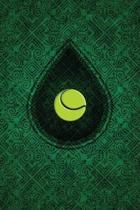 Monogram Tennis Notebook
