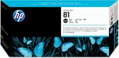 HP 81 - Inktcartridge / Zwart + Reiniger (C4950A)