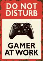 Do not disturb Gamer at work (X-box)