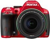 Pentax K 50 Kit + DA 18-135mm WR - Systeemcamera - Rood