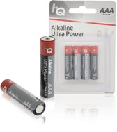 HQ, Alkaline Batterij AAA 1.5 V 4-Blister