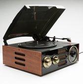 GPO EMPIRE Platenspeler en radio met ingebouwde speakers