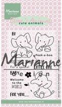 Marianne Design Stempel Elines elephant EC0168
