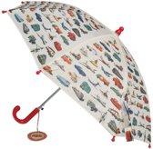 Rex London Vintage Transport Kinderparaplu - Ø 70 cm - Wit