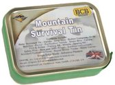 Bushcraft survival kit Mountain Survial Kit 23-delig - blik