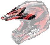 Arai MX-V Helmklep (1)-Tip Orange