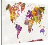Schilderij - Wereld in kleuren