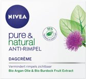 NIVEA Pure & Natural Anti-Rimpel Dagcrème - 50 ml