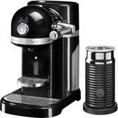 Nespresso KitchenAid 5KES0504 - Koffiecupmachine - Onyx Zwart - met melkopschuimer