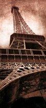 Eiffeltoren  - Fotobehang 91 x 211 cm