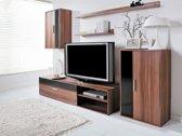 """TV Meubel Set - TV Kast Inclusief: 2 Kasten & 2 Gratis Wandplanken - Woonkamer """"ClassicEarth"""""""