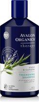 Avalon Organic Shampoo - Met Biotine voor Dikker haar