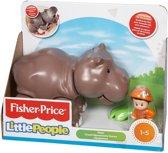 Fisher Price Little People Grote Dieren Nijlpaard