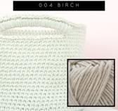Pakket basis basket 004,  Yarn and colors