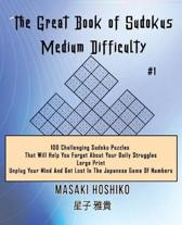 The Great Book of Sudokus - Medium Difficulty #1