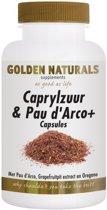 Golden Naturals Caprylzuur & Pau d' Arco+ (180 caps)