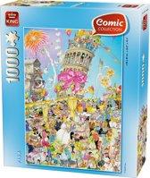 Comic 1000pcs Pisa