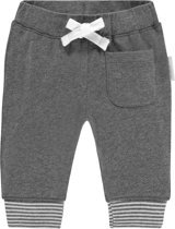 Noppies Unisex Broek relaxed fit Qolora - Grey Melange - Maat 80
