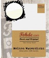 Fohde - Molton - Katoen - Waterdicht - 90 x 200 cm - Wit