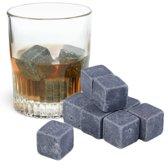 Whiskey Stones - Natuursteen ijsblokken - Geschenkverpakking met 9 stuks