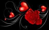 Slaapkamer Zwart Rood : Bol fotobehang roos slaapkamer zwart rood cm