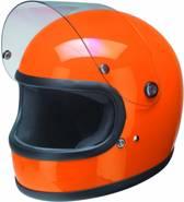 Redbike RB-74 retro helm oranje maat S