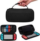 Beschermhoes voor Nintendo Switch case hardcase - zwart