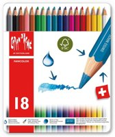Kleurpotloden Caran d'Ache Fancolor 18 stuks