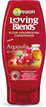 Garnier Loving Blends Argan & Cranberry Kleur Verzorgende Conditioner - 200 ml - Crèmespoeling