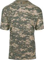 101inc T-shirt Recon digital ACU camo