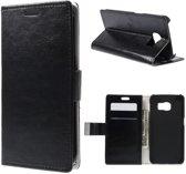 Magnetic Wallet Hoesje Samsung Galaxy S6 Edge zwart