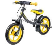 Lionelo Dan Plus - Loopfiets Geel de luxe incl fietshelm