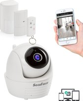 SecuFirst ALM314S Alarmsysteem - draadloos - IP-camera FHD 1080P - bewegingsmelder - deur/raam contact - afstandsbediening