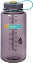 Nalgene Wide Mouth Bottle - drinkfles - 1.0 liter - BPA free - Aubergine