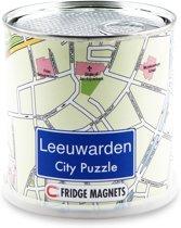 Leeuwarden city puzzel magneten