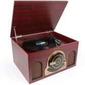 Fenton RP150 platenspeler met USB CD en radio in retro behuizing
