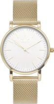 IKKI JAMY JM14 Horloge - Goud/wit