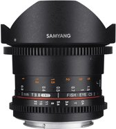 Samyang 8mm T3.8 Umc Vdslr Fisheye Cs II - geschikt voor Nikon