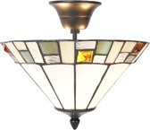 Tiffany plafondlamp Hexel