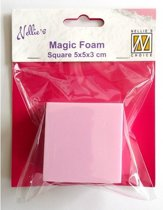 Nellies Choice Mixed Media Magic Foam square shape 5cmx5cm. thick 3cm