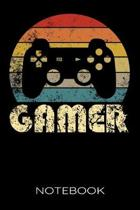 Gamer Notebook: Gamer Ruled Notebook/Journal/Paper/Diary/Planner For Boys, Teen Boys Who Love Video Games, e-sports and being Online W