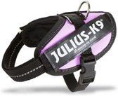 Julius K9 IDC Powertuig/Harnas - Maat 0/58-76cm - M - Roze