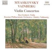 Myaskovsky.Vainberg:Violin Con