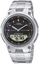 Casio AW-80D-1AVES - Horloge - 40 mm - Staal - Zilverkleurig