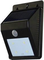 Solar Power 4-LED Outdoor Light, Wall / Tuin Lamp