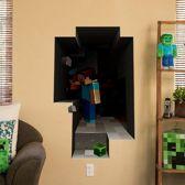 3D Minecraft Plak-Poster - Extra Groot