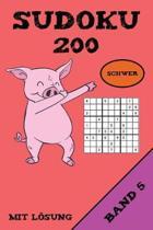 Sudoku 200 Schwer Mit L sung Band 5